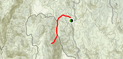 Sheephead Mountain Summit Map