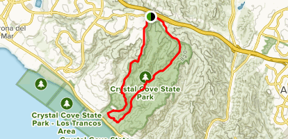 Bommer Ridge, Slow 'N Easy, El Moro Canyon and No Name Ridge Loop Map