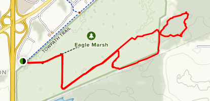 Eagle Marsh Extended Loop Map
