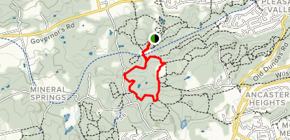 Main Loop Trail Map