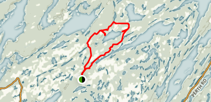 Little Salmon Lake Loop Map