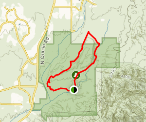 Nature Trail, Trail Link, and 50 Year Trail Map