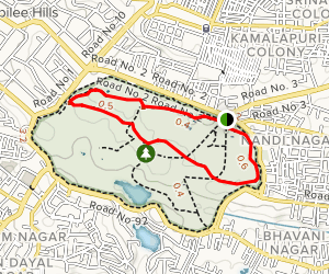 Jogging Trail Map