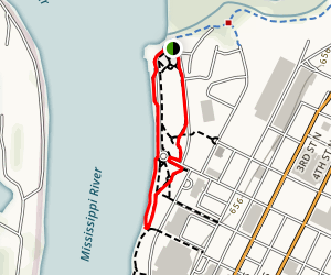 Riverside Park Loop Map