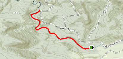 Catlin's River Track Map