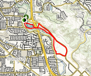 Hellyer County Park Loop Map