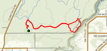 Headgate and Rockbar Loop Map