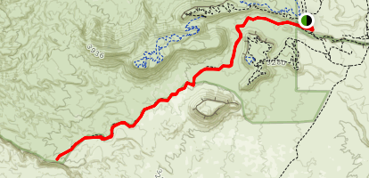Cove Wash West Map