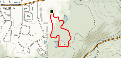 F.A. Seiberling Nature Realm Loop Map