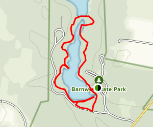 Barnwell State Park Loop Map