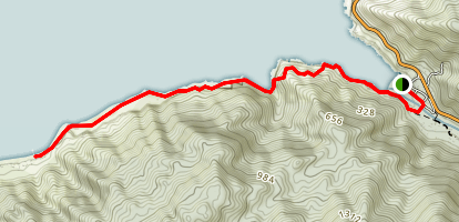 Boca de Tomatlan Trail Map