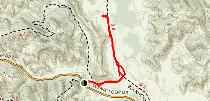 Prarie Dog Trail Map