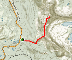 Hayden Peak Map