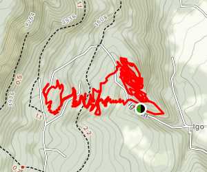 Mount Emily Recreation Area MTB Loop Map