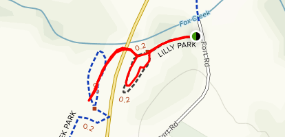 Lilly Park Map