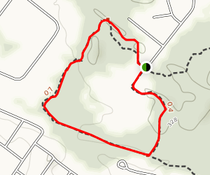 Blueberry Hill West Red and Yellow Trail Map