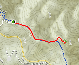 Incinerator Ridge to Leopold Point Map