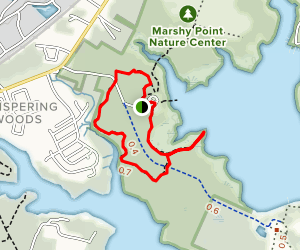 Dundee-Saltpeter and White Tail Trail Loop Map