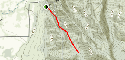 Seymour Canyon Map
