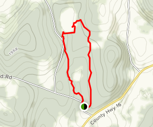 Basswood Pond Loop Map