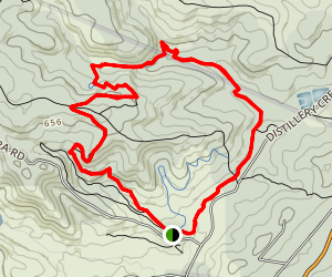 Currawong Falls Track- Airies Inlet Singletrack Map