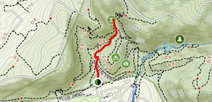 Fernkloof Waterfall Map