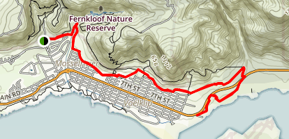Hermanus Cycle Track Map