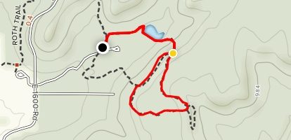 KU Field Station: Fitch Biology Trail and Upper Loop Map