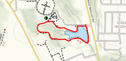 Johnny Henderson Trail Map