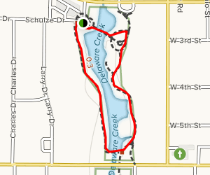 Delaware Creek Loop Map
