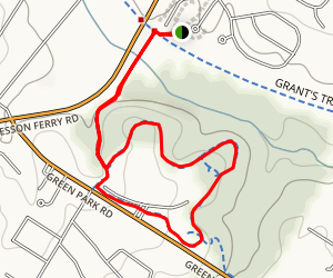 Clydesdale Trail Loop Map