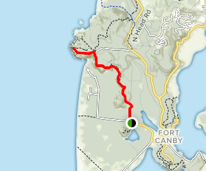Cape Disappointment North Head Trail Map