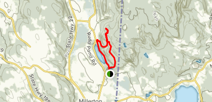 Iron Mine Pond Loop Map