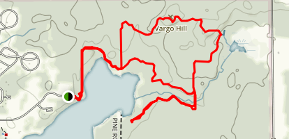 Potato Creek Trails 1, 2, and 4 Map