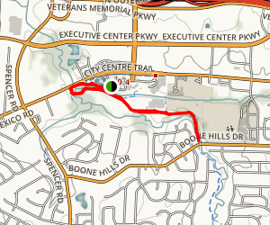 St. Peters City Park Trail Map