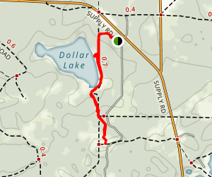 Dollar Lake Map