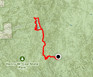 Alquist Trail to Mississippi Lake Map