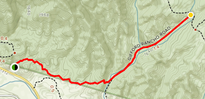 Gifford Trail Map