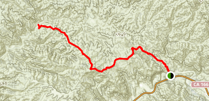Twin Rocks and Logan Ridge Map