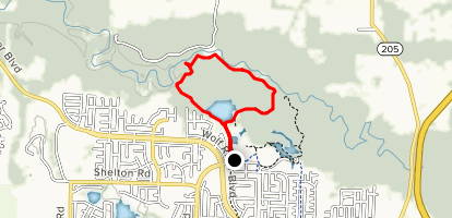 Johnson Park Short Loop Map