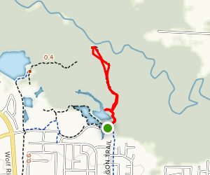 Peterson Lake Boardwalk Map