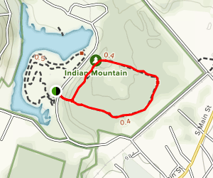 Ballard Lake Trail Map