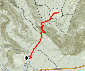 Elk Meadow Trail #667C Map