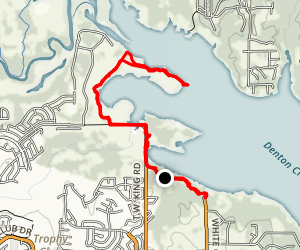 Lake Grapevine Walnut Grove Trail Map