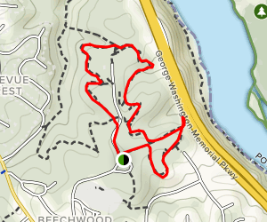 Potomac Overlook Trail Map