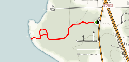Eastern Shore Trail Map