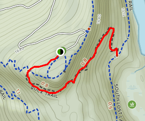 Rock Trail Map