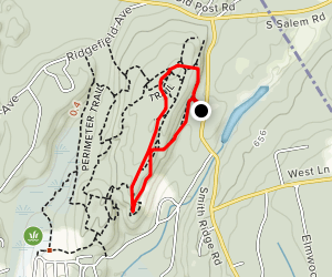 Cottage and Blue Trail Loop Map