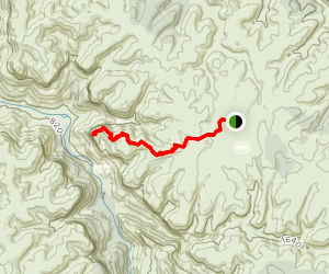 Ahearn's Lookout Trail Map
