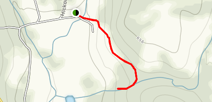Nonnewaug Falls Trail Map
